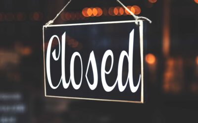 Uffici chiusi fino al 25 Marzo 2020